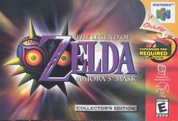 Legend of Zelda, The - Majora's Mask (USA) Box Scan